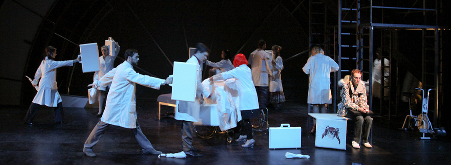 Realwheels' Production of Spine at the 2010 Cultural Olympiad in Vancouver