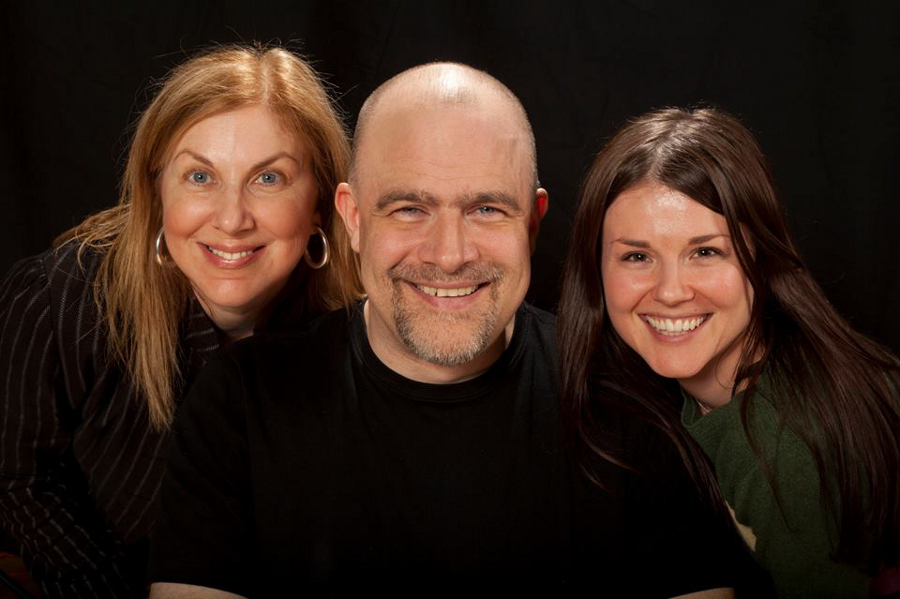 Rena Cohen, James Sanders, and Lindsey Adams