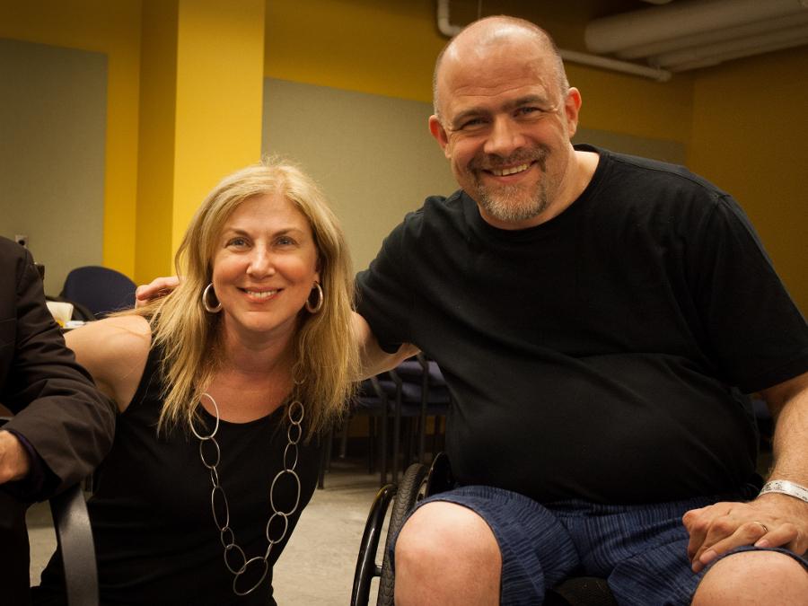 Rena Cohen and James Sanders.