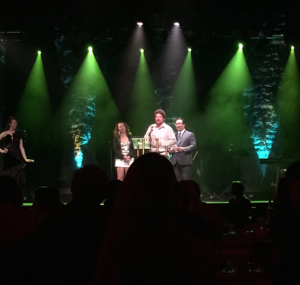 Adrian Muir Jessie Award