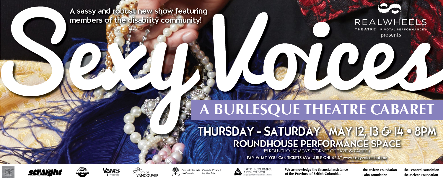 SexyVoices – A Burlesque Theatre Cabaret