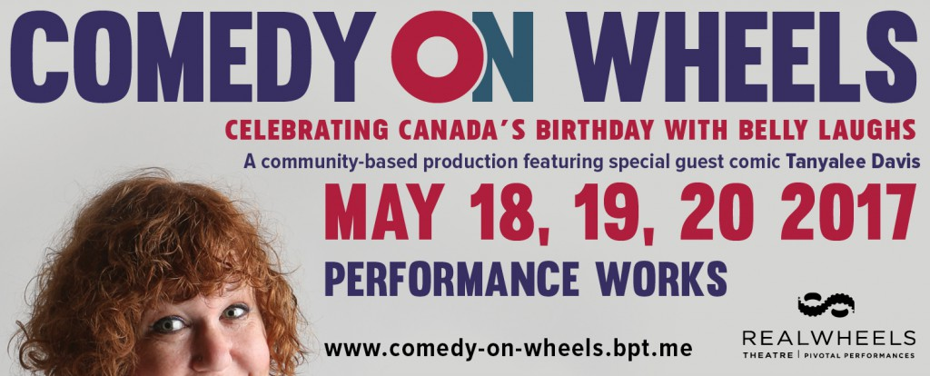 Comedy on Wheels Web Banner