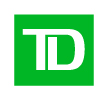 TD logo: a green square with capital letters TD in white font on top